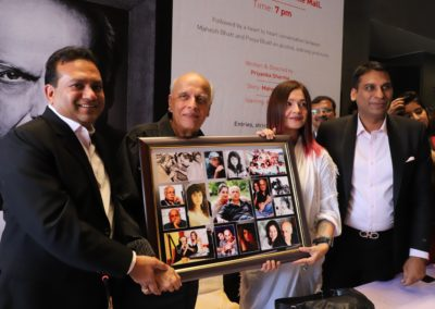 Film Director Mahesh Bhatt, actor-daughter Pooja Bhatt