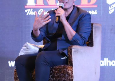 Manish Malhotra addressing the students and INIFD faculty