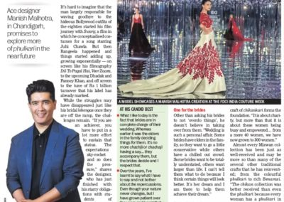 Manish Malhotra great news