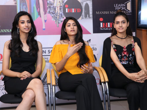 FBB Colors Femina Miss India 2018 Haryana Finalists at INIFD Chandigarh