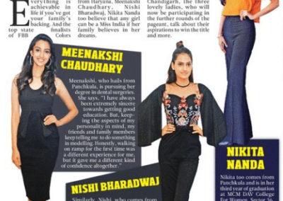 Femina Miss India 2018 Haryana