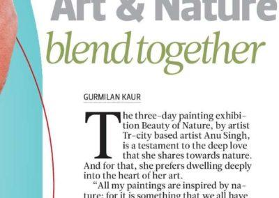 Nature Blend together