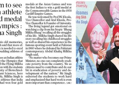 "gold medal at the Olympics that I lost in Rome"": Milkha Singh"